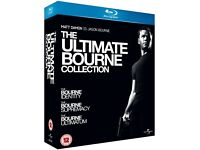 The Ultimate Bourne Collection on Blu-Ray