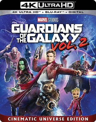 Guardians Of The Galaxy Vol  2  4K Ultra Hd Blu Ray Disc Only  2017