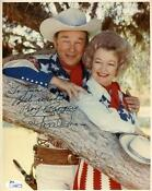 Roy Rogers Signed Photo