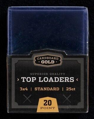 Case 1000 CBG 3x4 Baseball Trading Card Hard Plastic Topload Holders Toploaders