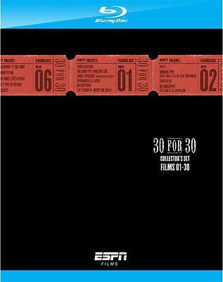 ESPN Films . 30 For 30 . Vol. 1-2 . 30 Sports Movies Sport Filme . 6 Blu-ray