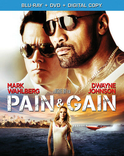 Pain & Gain [new Blu-ray] With Dvd, Widescreen, Subtitled, 2 Pack, Ac-