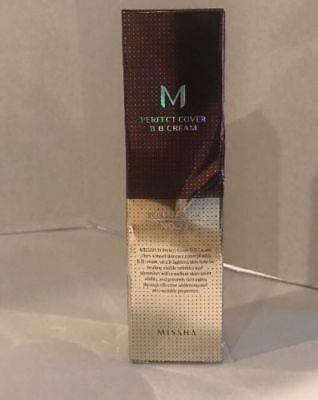 Missha M Perfect Cover Bb Cream Spf 42 Pa    No 23 Natural Beige 1 69Oz   50Ml