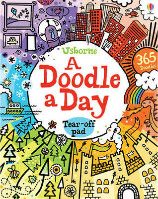 A Doodle a Day (Usborne Activity Pads), Phillip Clarke, Used Excellent Book