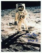 Buzz Aldrin Signed