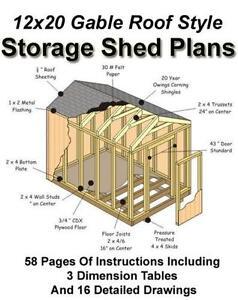 Shed plans ebay for Buy shed plans