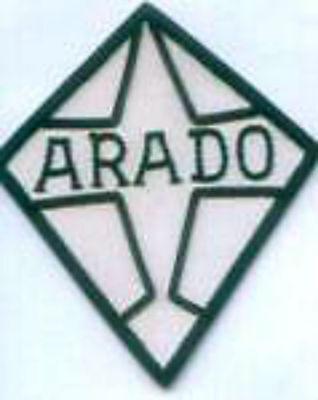 German Arado Luftwaffe Aviation Mfg Manufacturer Air Club ? Arms Seal Patch 234