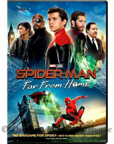 SPIDERMAN-FAR FROM HOME- DVD - Brand New Factory Sealed SHIPS 9/20