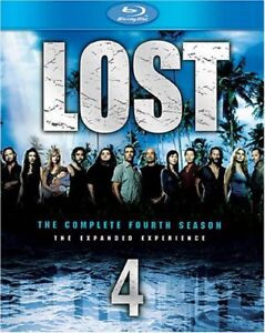 Lost Season 4 and 5 on Blu-ray-Mint condition- $20 each