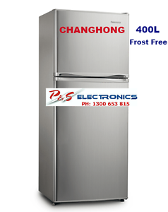 FTM418A01S - CHANGHONG 408L TOP MOUNT FRIDGE - STAINLESS STEEL Lansvale Liverpool Area Preview