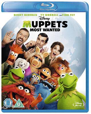 Muppets Most Wanted Blu-ray (2014) Tina Fey, Bobin (DIR) cert U Amazing Value