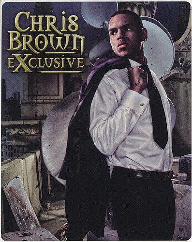 Chris Brown eXclusive RARE promo sticker 2007