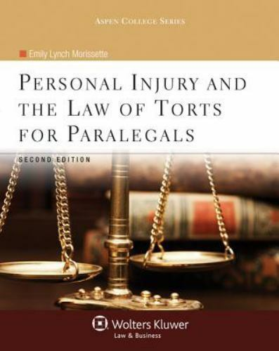 Personal Injury and the Law of Torts for Paralegals Second Edition Brand New NIP 1