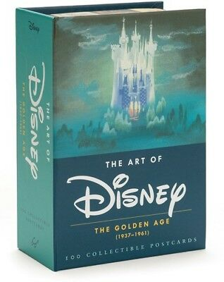 The Art of Disney: The Golden Age (1937-1961) [New Book] Boxed Set, Postcard