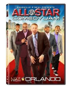 NEW Shaquille ONeal Presents All Star Comedy Jam Live From Orlando (2012)