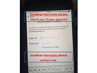 Jonathan Horrocks, John Horrocks. LOST IPHONE6. HORROCKS