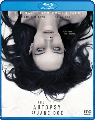 The Autopsy Of Jane Doe [New Blu-ray] 2 Pack, Widescreen - 2017 Halloween The Movie