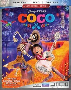 DISNEY COCO BLURAY ,DVD, DIGITAL, COMBO BRAND NEW