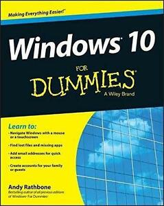 WINDOWS 10 FOR DUMMIES Softcover Computer Book