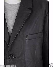 Woodland Men's Real 100% Leather Blazer