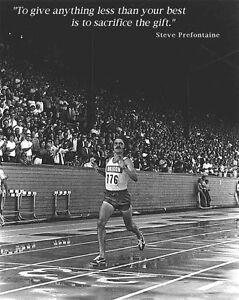 Steve Prefontaine THE GIFT 1972 Classic Premium Full-Sized Running POSTER Print