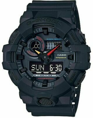 New Casio G-Shock GA700BMC-1A Ana Digi World Time Watch