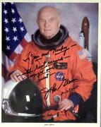 John Glenn Signed
