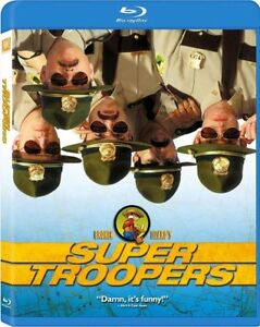 Super Troopers-New Blu-ray/Sealed