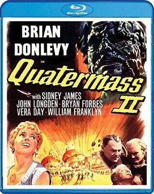 QUATERMASS II 2 New Sealed Blu-ray 1957 Brian Donlevy aka Enemy from Space