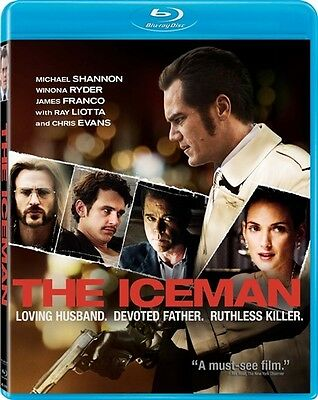 The Iceman New Sealed Blu Ray James Franco Chris Evans