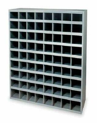 Metal 72 Hole Storage Bin For Bolts Screwsnuts Washers Fasteners 12 Depth