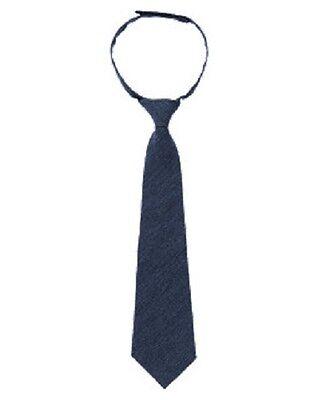 NWT~Gymboree HOLIDAY SHINE navy herrinbgbone tie~OS one size
