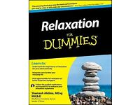 Relaxation for Dummies + free 1 hr counselling session available if you wish please check my website