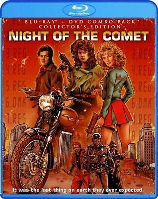 NIGHT OF THE COMET Blu-ray DVD Collector's Edition Film Thom E. Eberhardt Horror