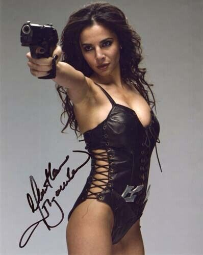 MARTHA HIGAREDA Signed Altered Carbon Autographed 8x10 Photo reprint
