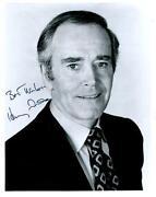Henry Fonda Signed