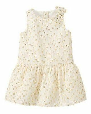 NWT Gymboree HOLIDAY SHINE Size 2T 3T 4T 5T Shimmer Dot Dress ](Size 2t 3t)
