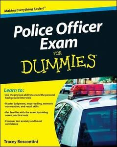 Police Officer Exam For Dummies - $7.86