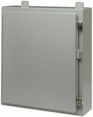 Eaton B-line 20206-12 20x20x6 Equipment Cabinet Enclosure Powder Coat Steel