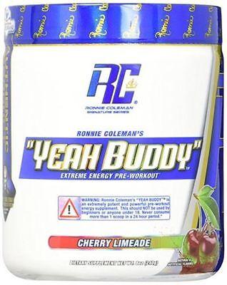 Ronnie Coleman Yeah Buddy Pre Workout Energy Focus Pump  30 Servings Pick Flavor