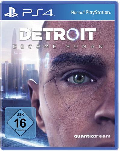 Detroit Become Human [UNCUT Bonus Edition] | PS4 | NEU & OVP | Blitzversand