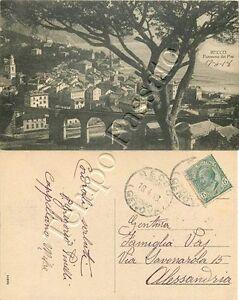 Cartolina di Recco, panorama - Genova, 1918 - Italia - L'oggetto può essere restituito - Italia