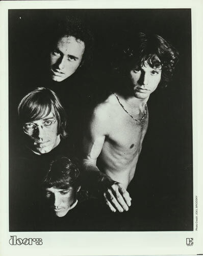 Doors/Jim Morrison VTG B/W Promo 8x10 Photograph Publicity Rock Print Elektra A