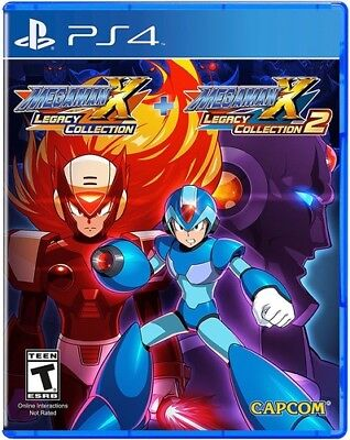 Mega Man X: Legacy Collection 1 + 2 for PlayStation 4 [New PS4] comprar usado  Enviando para Brazil