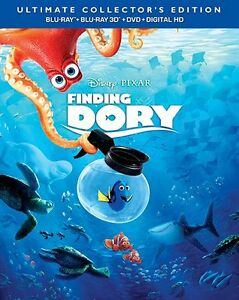 Disney's Finding Dory 3D Blu Ray Disc