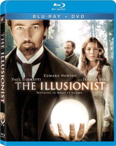 THE ILLUSIONIST (2006 Edward Norton) - BLU-RAY -   Region A - Sealed