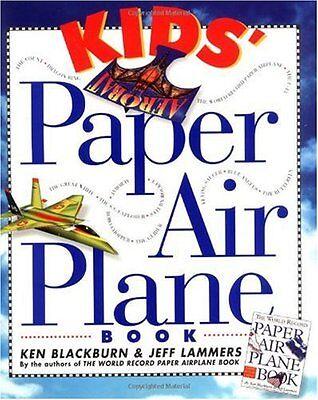 Kids Paper Airplane Book by Ken Blackburn  ()