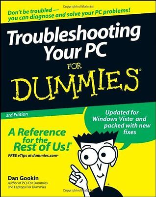 Troubleshooting Your Pc For Dummies  3Rd Edition By Dan Gookin