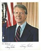 Jimmy Carter Signed