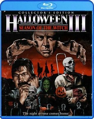 HALLOWEEN III 3 Third SEASON OF THE WITCH Blu-ray Film Collector's Edition Three - Halloween Movie Three Witches